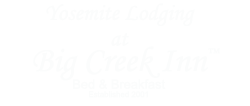 Yosemite Lodging at Big Creen Inn